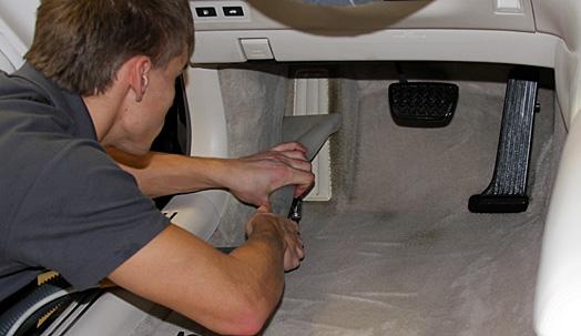 Химическая чистка автомобиля