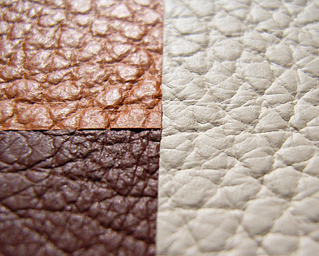 Leather refinishing